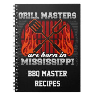 Cuaderno Los amos de la parrilla nacen en Mississippi