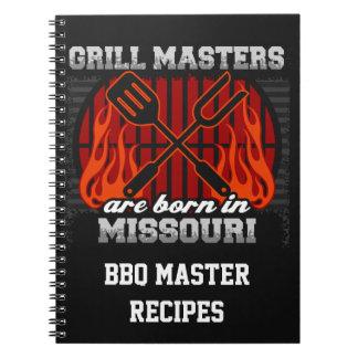 Cuaderno Los amos de la parrilla nacen en Missouri