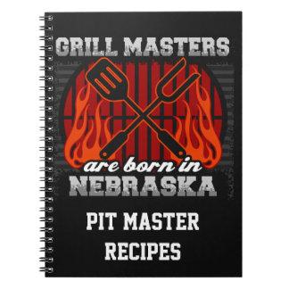 Cuaderno Los amos de la parrilla nacen en Nebraska