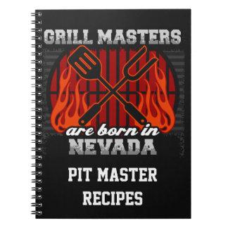 Cuaderno Los amos de la parrilla nacen en Nevada