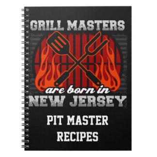 Cuaderno Los amos de la parrilla nacen en New Jersey