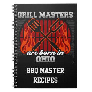 Cuaderno Los amos de la parrilla nacen en Ohio