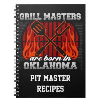 Cuaderno Los amos de la parrilla nacen en Oklahoma