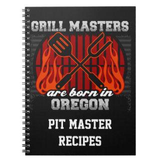 Cuaderno Los amos de la parrilla nacen en Oregon