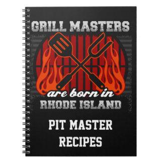 Cuaderno Los amos de la parrilla nacen en Rhode Island