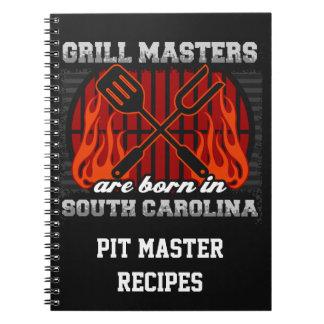 Cuaderno Los amos de la parrilla nacen en S Carolina