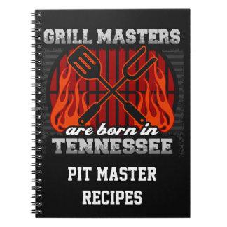 Cuaderno Los amos de la parrilla nacen en Tennessee