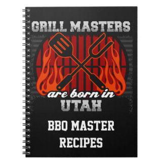 Cuaderno Los amos de la parrilla nacen en Utah