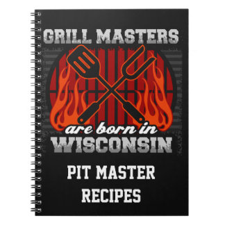 Cuaderno Los amos de la parrilla nacen en Wisconsin