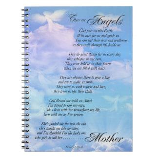 Cuaderno Los ángeles son poema de las madres