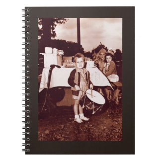 Cuaderno Los años 30 del muchacho c del batería de la