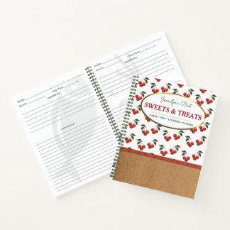 Cuaderno Los dulces y las invitaciones personalizaron