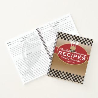 Cuaderno Los favoritos de la familia personalizaron receta