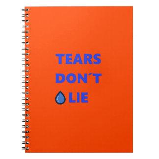 Cuaderno Los rasgones no mienten