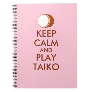 Cuaderno Los regalos de Taiko guardan personalizado del