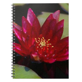 Cuaderno Lotus magenta Waterlily