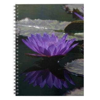 Cuaderno Lotus púrpura Waterlily