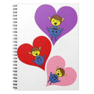 Cuaderno Love, love and love
