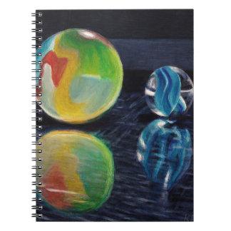 Cuaderno Luz de mármol