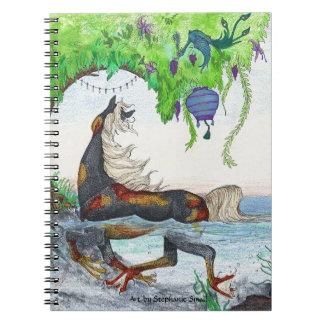 Cuaderno mágico de los pescados del caballo del