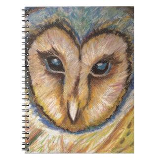 Cuaderno majestuoso del búho