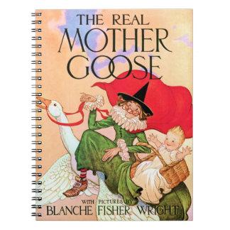 Cuaderno Mamá ganso
