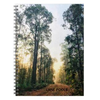 Cuaderno Mañana brumosa en el bosque