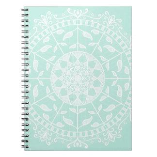 Cuaderno Mandala del vidrio del mar