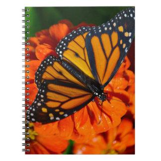 Cuaderno Mariposa de monarca