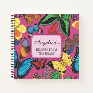 Cuaderno ¡Mariposas de Beaucoup! Receta