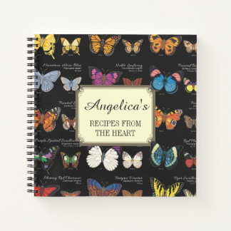 Cuaderno Mariposas de la receta del mundo