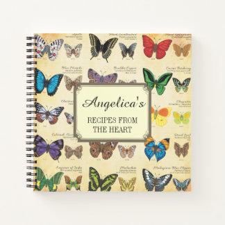 Cuaderno Mariposas de la receta del mundo 2
