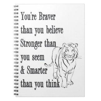 Cuaderno - más valiente