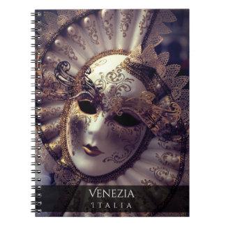 Cuaderno Mascarada veneciana