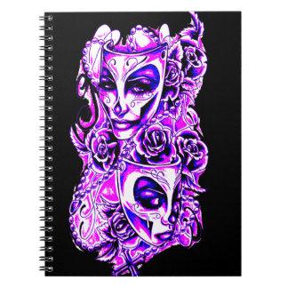 Cuaderno Máscaras