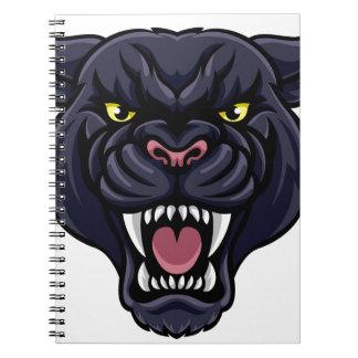 Cuaderno Mascota de la pantera negra