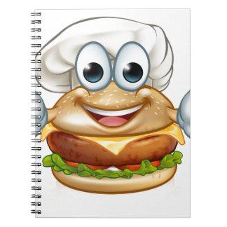 Cuaderno Mascota del personaje de dibujos animados de la