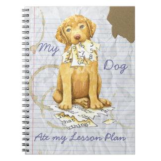 Cuaderno Mi Chessie comió mi plan de lección