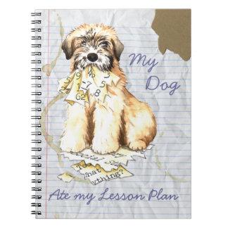 Cuaderno Mi de trigo comió mi plan de lección