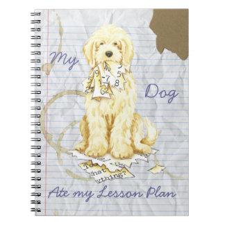Cuaderno Mi Komondor comió mi plan de lección