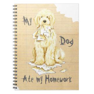 Cuaderno Mi Komondor comió mi preparación