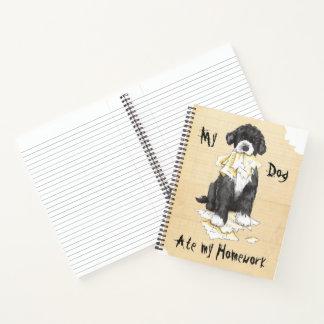 Cuaderno Mi PWD comió mi preparación