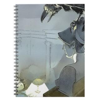 Cuaderno Mirado por el cuervo