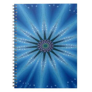 Cuaderno Modelo artístico enrrollado fresco de Starburst
