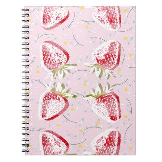 Cuaderno Modelo de la fiesta de las fresas