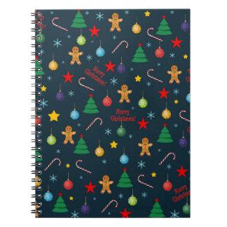 Cuaderno Modelo del navidad