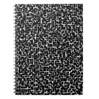 Cuaderno Modelo gris gris blanco negro de Digitaces Camo