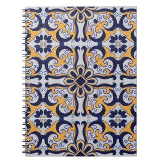 Cuaderno Modelo portugués de la teja