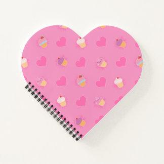 Cuaderno Modelo rosado de la magdalena