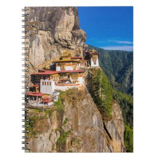 Cuaderno Monasterio de la jerarquía del tigre